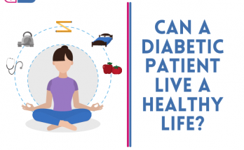 can a diabetic patient live a healthy life