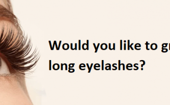 Would you like to grow long eyelashes