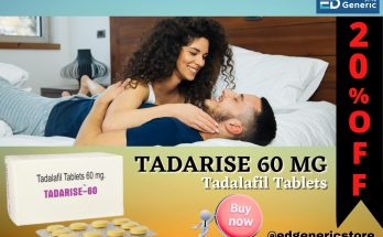 Tadarise 60 mg - Ed Generic Store